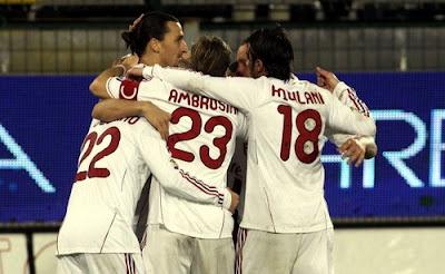 Cagliari Milan 0-2 highlights