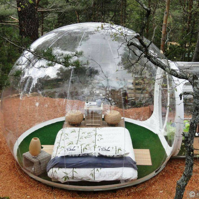 Descubre tu mundo destino hotel attrap 39 reves naturaleza y descanso en burbujas transparentes Attrap reves hotel