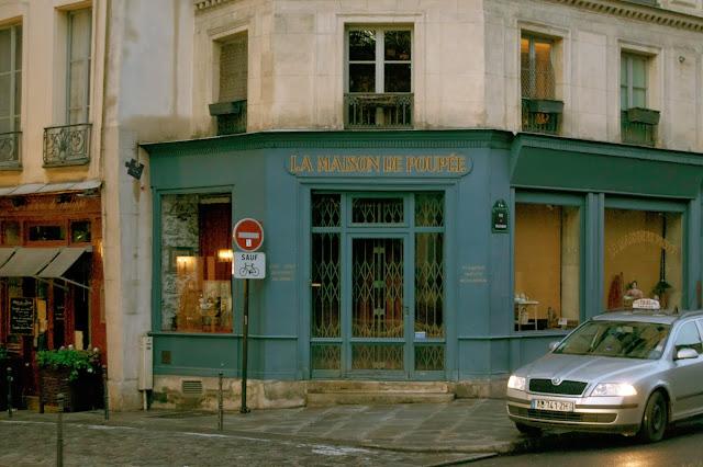 Tienda tipica de París
