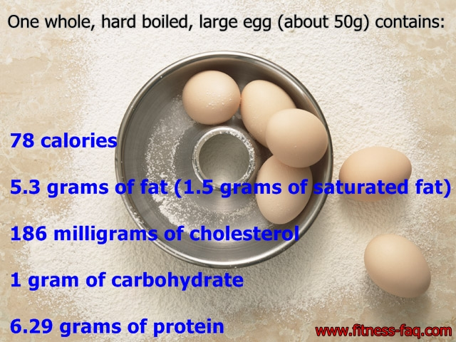 How many calories in an egg | Fitness - FAQ