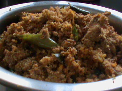 Easy South Indian Recipe Meen Mutta Thoran Fish Roe Stir