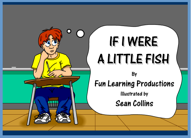 Song 9 if i were a little fish english for kids for Little fish song