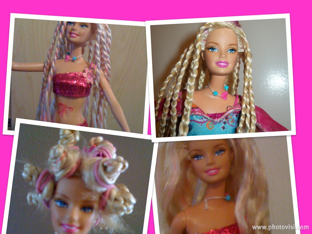 how to clean and untangle barbie hair. Black Bedroom Furniture Sets. Home Design Ideas