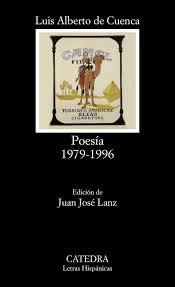 """""""Poesía 1979-1996"""" - Luis Alberto de Cuenca."""