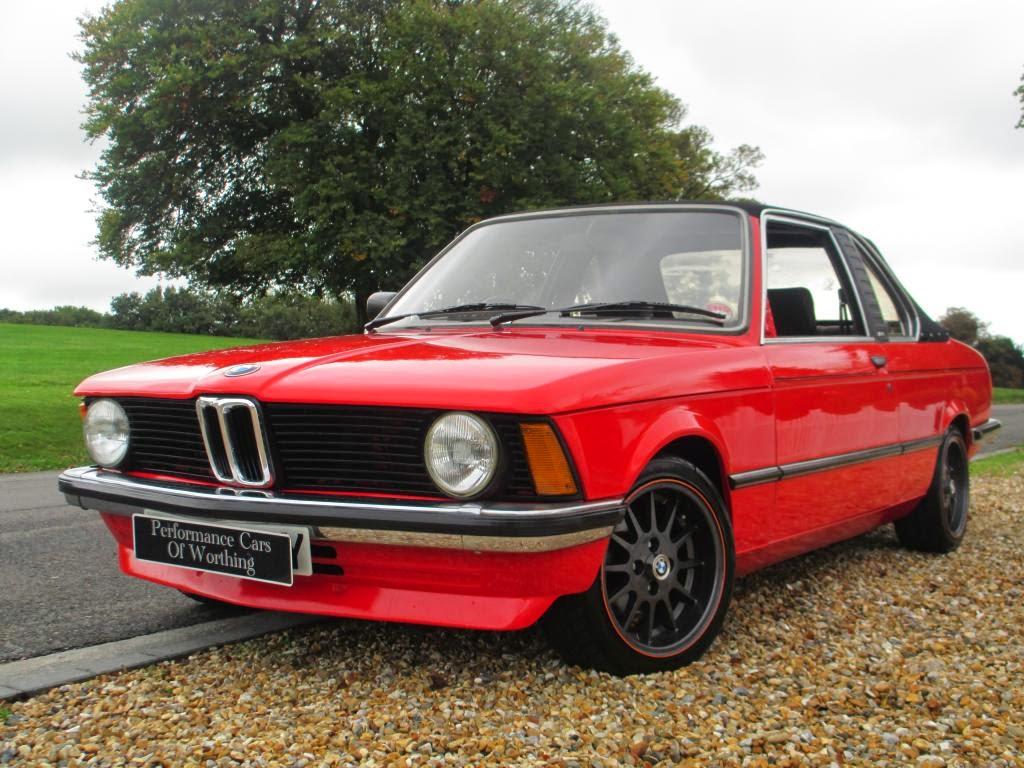 Baurspotting: Beautiful! BMW 316 Baur Cabriolet - -1982 E21 Henna ...