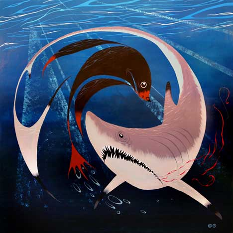 Carlos Ramos shark