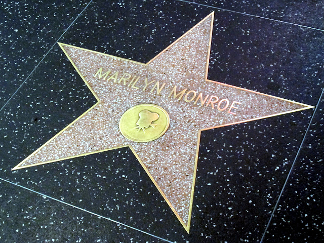 Marilyn Monroe Hollywood Walk of Fame, LA - Los Angeles, California - travel blogger