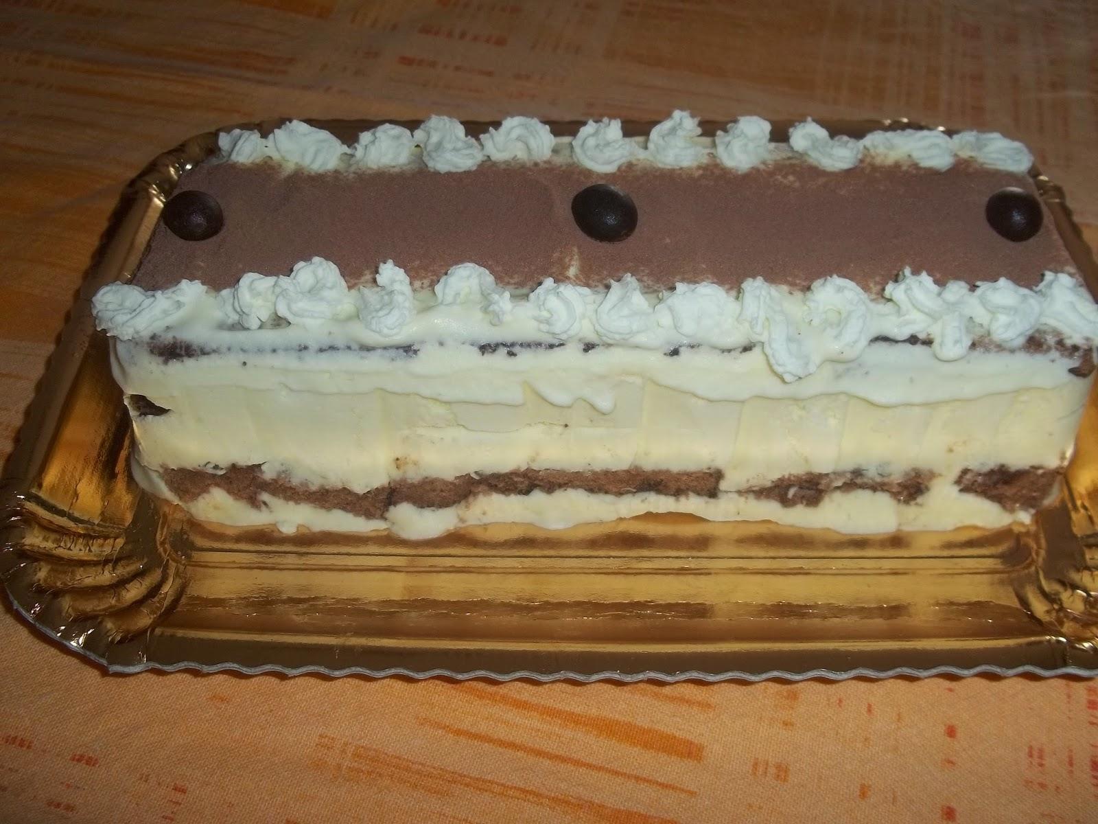 mattonella al mascarpone e cacao