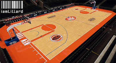 NBA 2K13 Madison Square Garden Court Update Patch