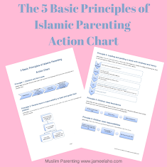 Free Islamic Parenting Chart to Guide Your Child's Behaviour