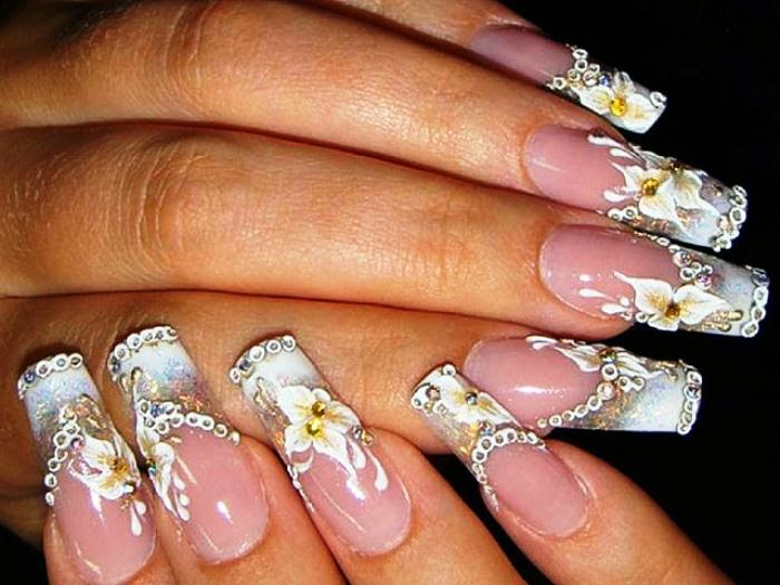 Cute nail designs pinterest pccala wedding nails designs 2014 prinsesfo Choice Image