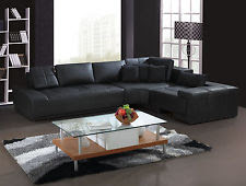 Franco Collection Contemporary L Shaped