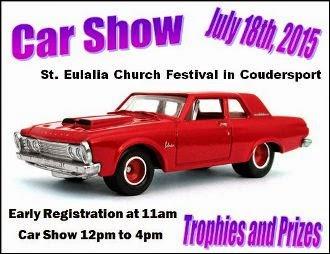 7-18 Car Show, Coudersport