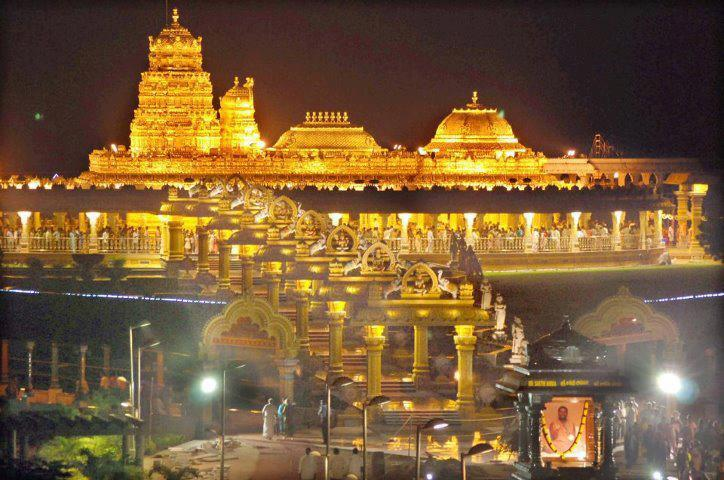 Golden Temple in Tamil Nadu http://searchparineeti.blogspot.com/2012/05/sripuram-sri-lakshmi-narayani-golden.html