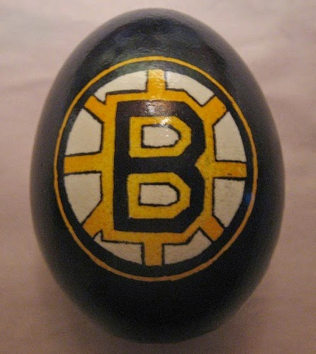 Boston Bruins Easter egg