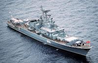 Krivak class frigate