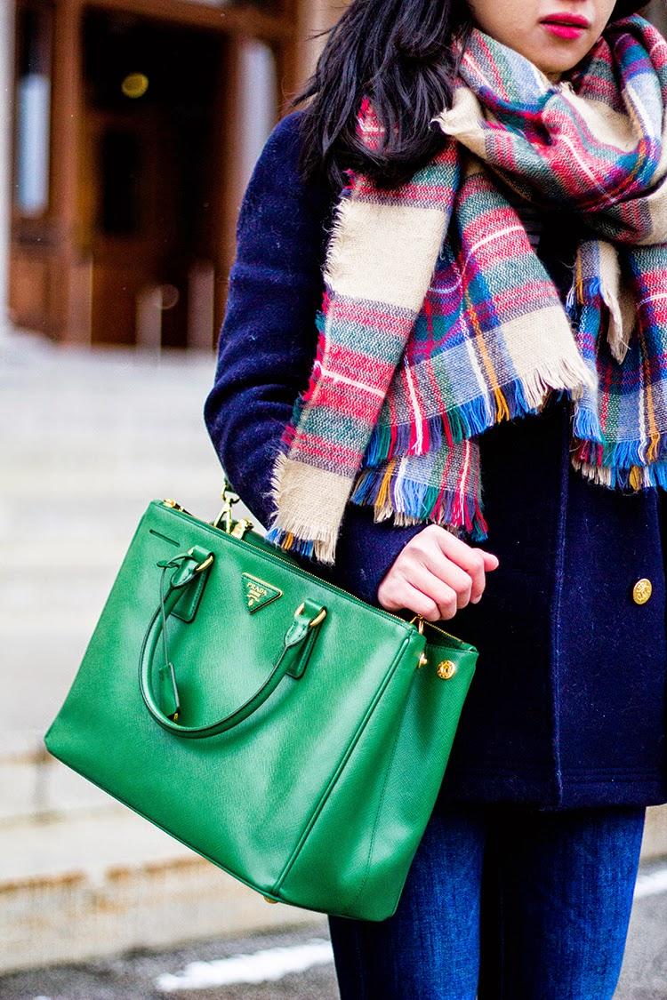 Review: Prada Saffiano Medium Double Zip Top-Handle Bag ( BN2274 ...