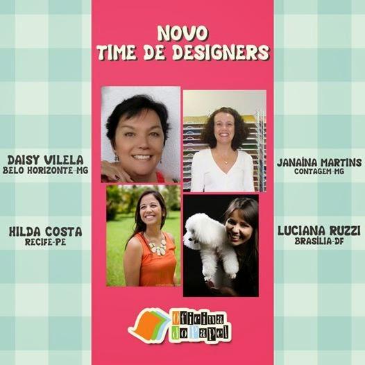 Participações Time de Designers Oficina do Papel