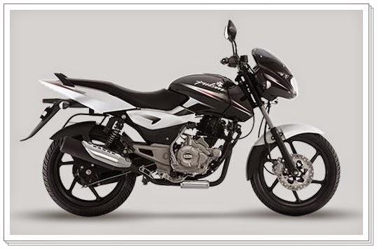Bajaj Pulsar 150 cc white