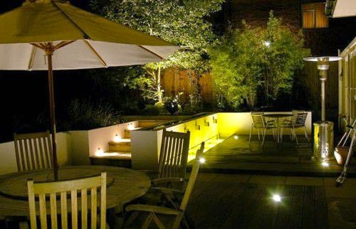 safety with low lights in the garden | Outdoor Furniture in Vietnam