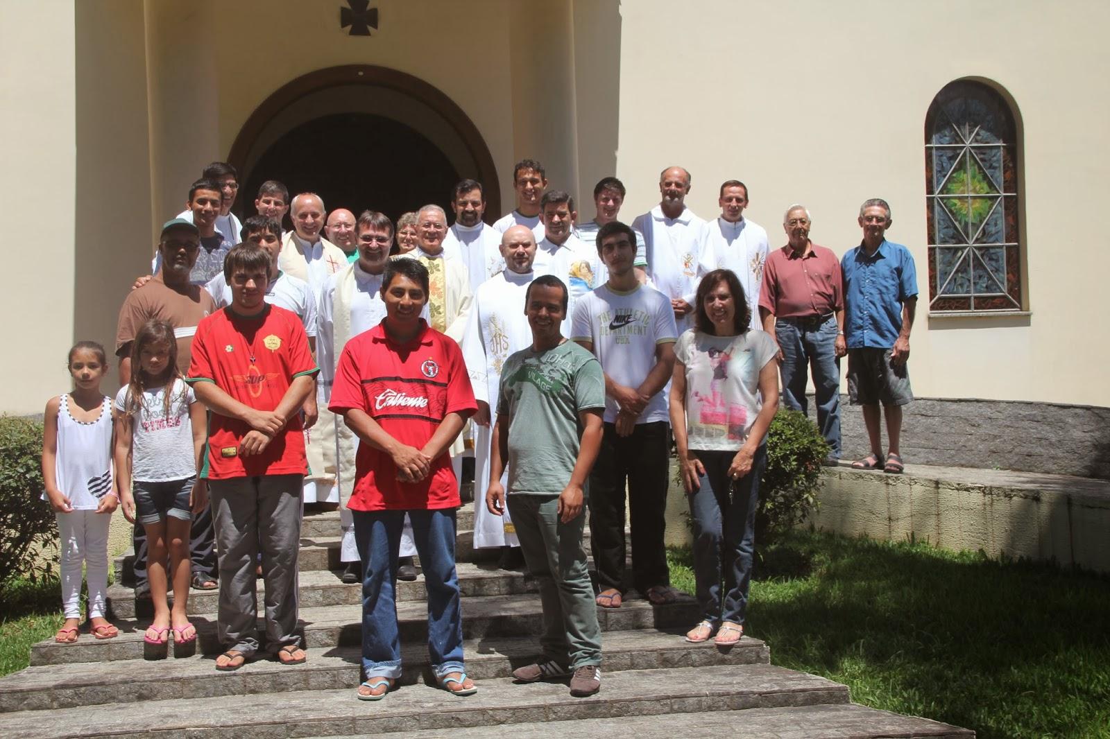 Participantes do Retiro Anual da Delegação Mãe de Deus