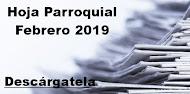 Hoja Parroquial Febrero 2019