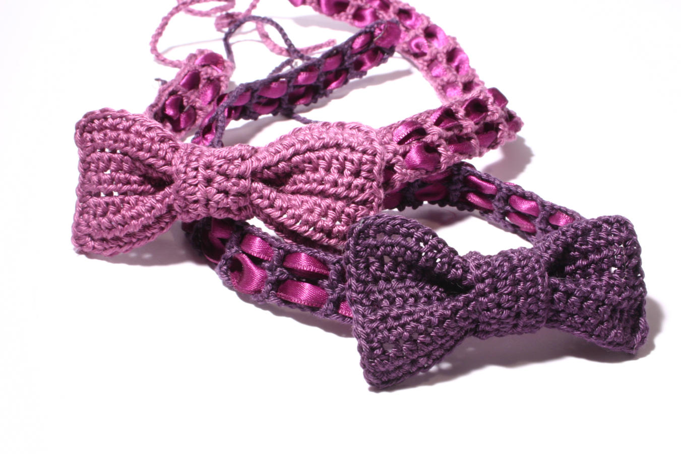 ...cherchez la femme!: Crochet headband with bow: Free DIY ...