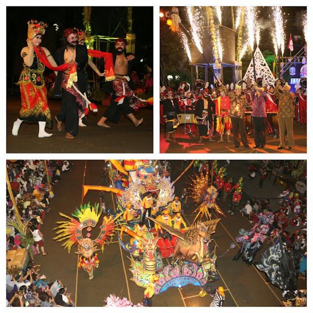 Parade Budaya Jawa Timur 2015, Jatim Specta Night Carnival.
