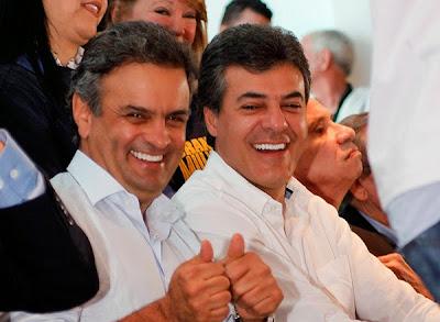 Aécio Neves e Beto Richa: um playboy protege o outro