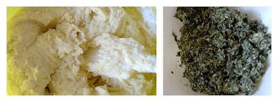 Rotolo di patate e spinaci prepariamo i 2 composti