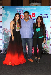 Actress Sunny Leone Pictures in Long Dress at Kuch Kuch Locha Hai Promotion  18.JPG