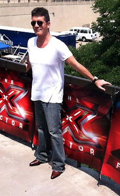 X Factor judge Simon Cowell Texas auditions