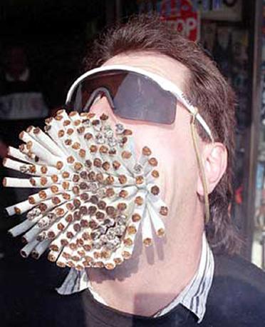 Salute fumante smessa un forum