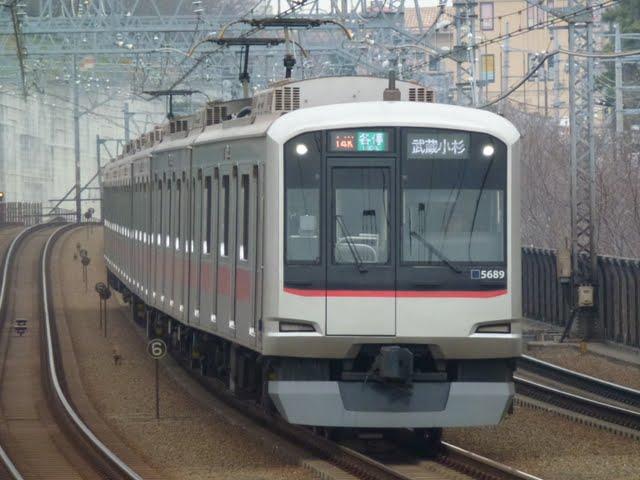 東京急行電鉄 各停 武蔵小杉行き2 東急5080系