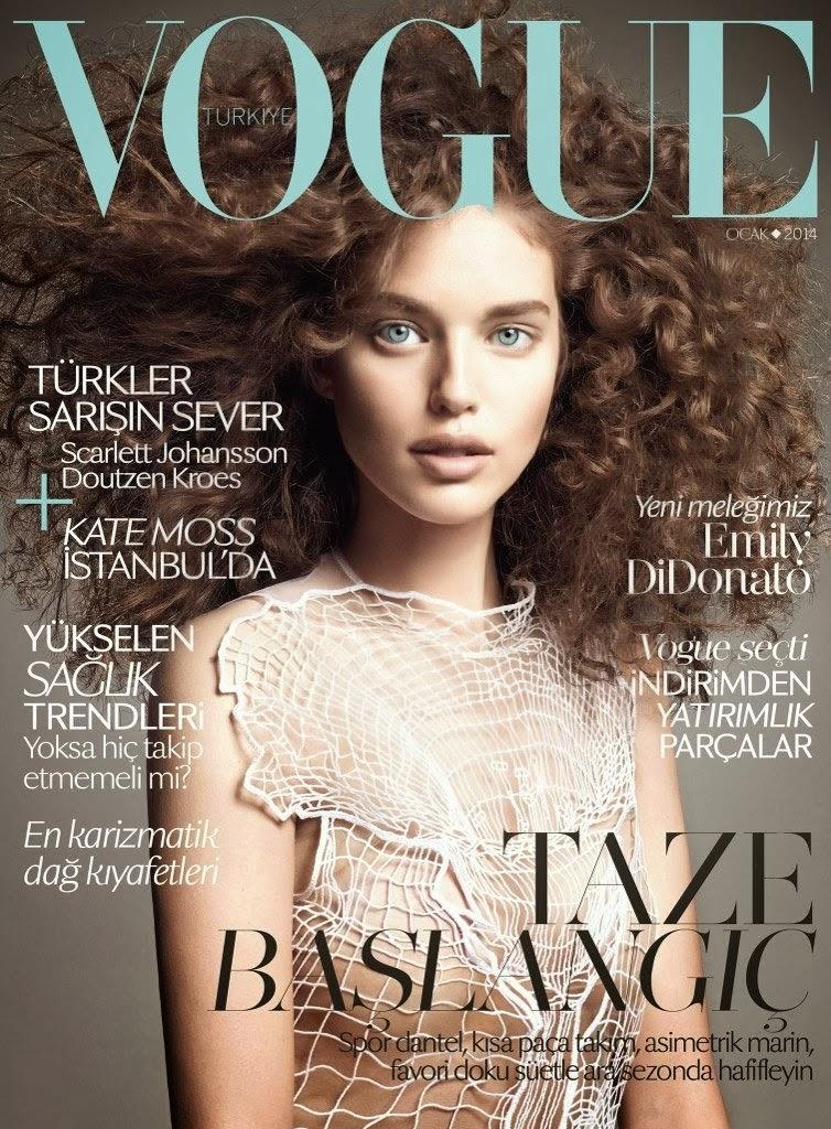 Magazine Photoshoot : Emily DiDonato Photoshot For Vogue Magazine Turkey January 2014 Issue