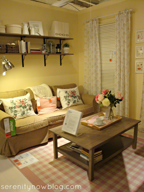IKEA Feminine and Floral Look, from Serenity Now blog