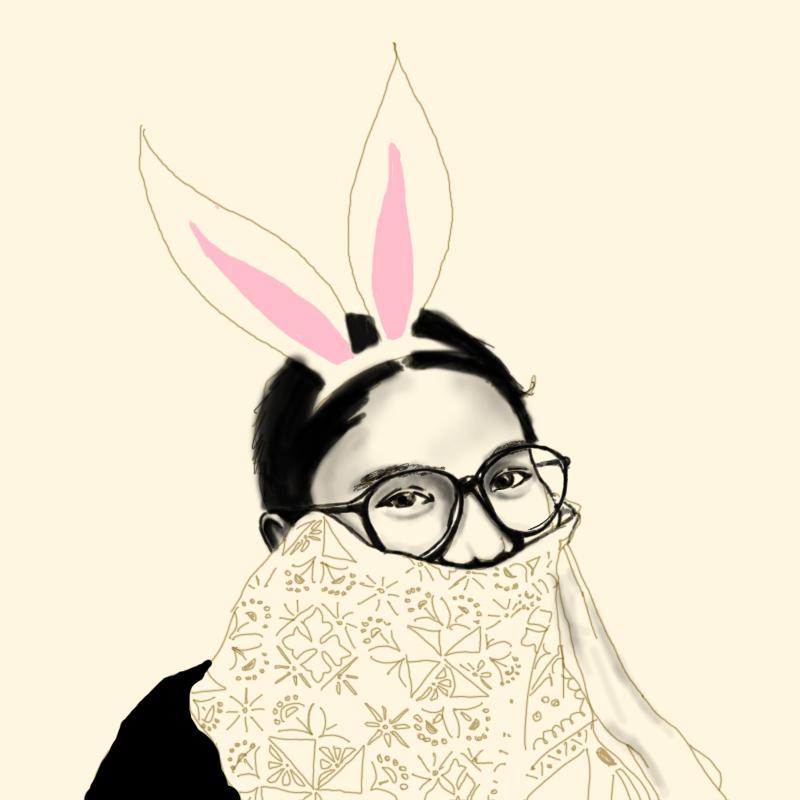 my savior bunny @IndraswariAgnes
