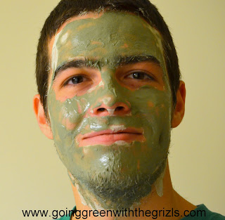 husband with face mask