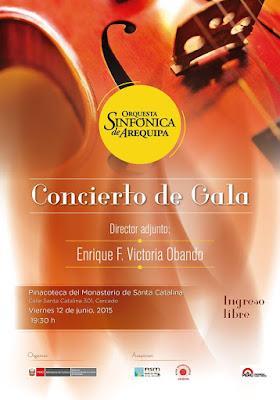 concierto orquesta sinfonica de arequipa