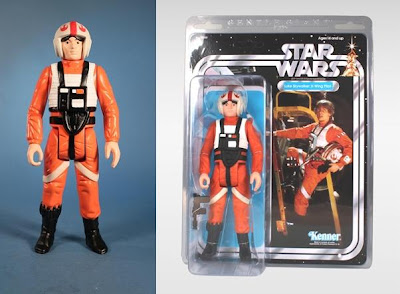 X-Wing Pilot Luke Skywalker 12 Inch Jumbo Vintage Kenner Star Wars Action Figure by Gentle Giant