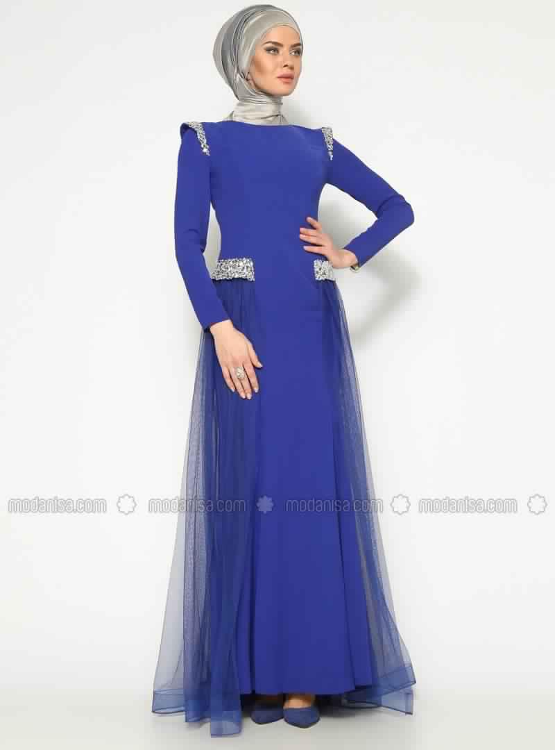 Robe de soiree pour femme voilee 2016