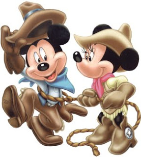 mickey minnie cowboy style