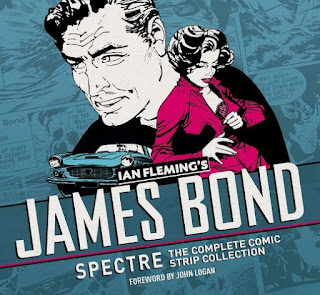 SPECTRE comic strip book cover