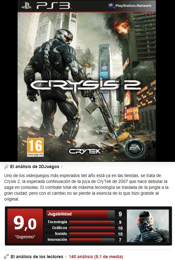 Crysis 2 [PS3][Multi][3.55]
