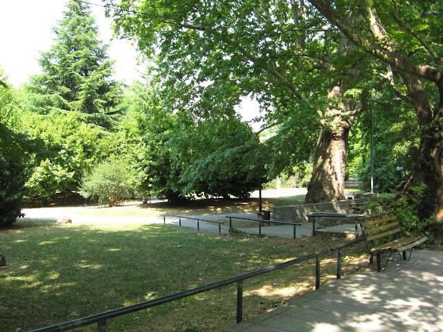 Το πάρκο στην περιοχή Κιουπρί το 2008