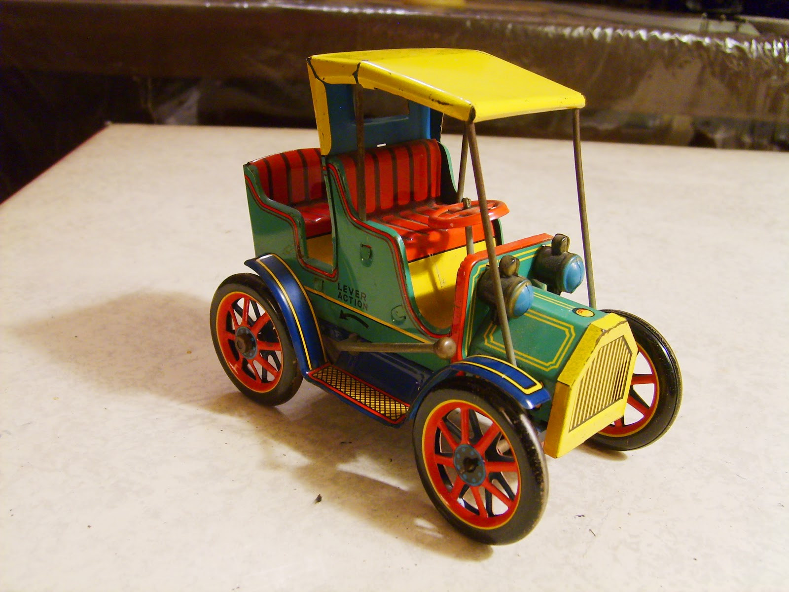 Finding Beauty in Ephemera: Japanese Tin Toy Vehicles, Part 3