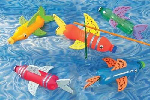 Como Hacer Manualidades De Pescados