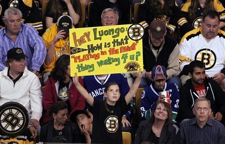 The Trolley Tracks The Time Was Three Past Luongo In Boston