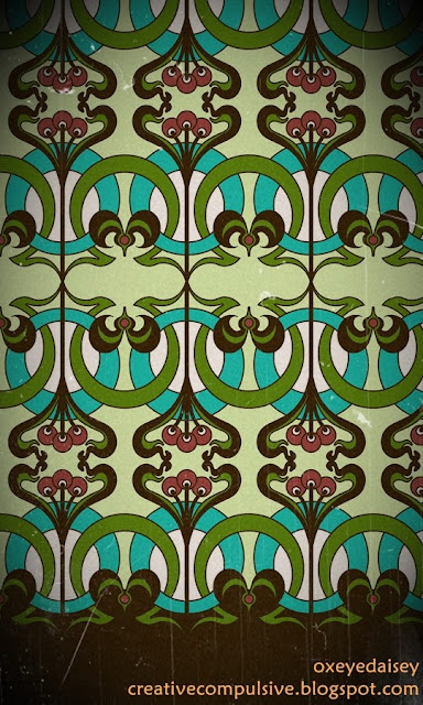 art nouveau surface design