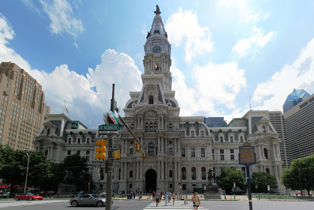 New picture of the Philadelphia City Hall